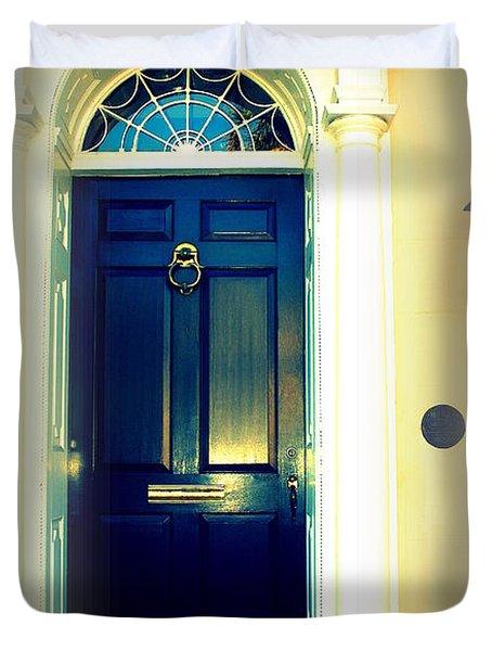 Charleston Door 6 Duvet Cover by Susanne Van Hulst