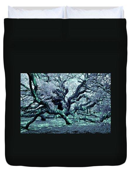 Charleston's Angel Oak Duvet Cover