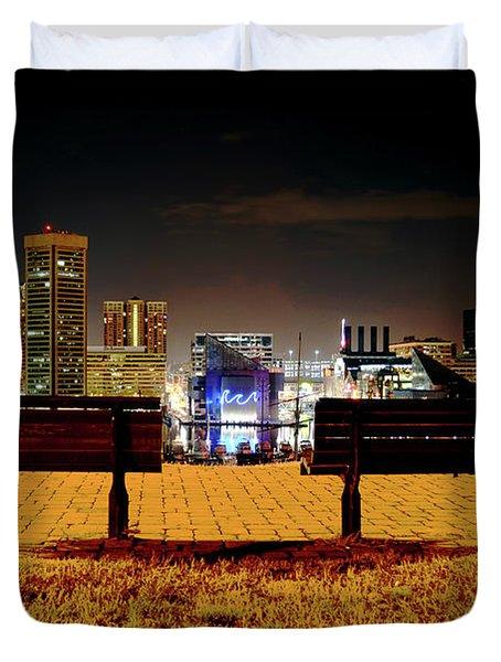 Charm City View Duvet Cover