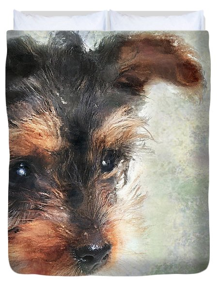 Charming Duvet Cover by Betty LaRue