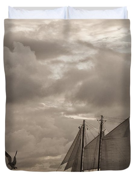 Chasing The Wind Duvet Cover