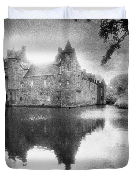 Chateau De Trecesson Duvet Cover by Simon Marsden