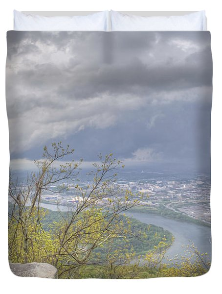 Chattanooga Valley Duvet Cover