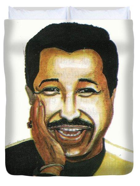 Cheb Khaled Duvet Cover