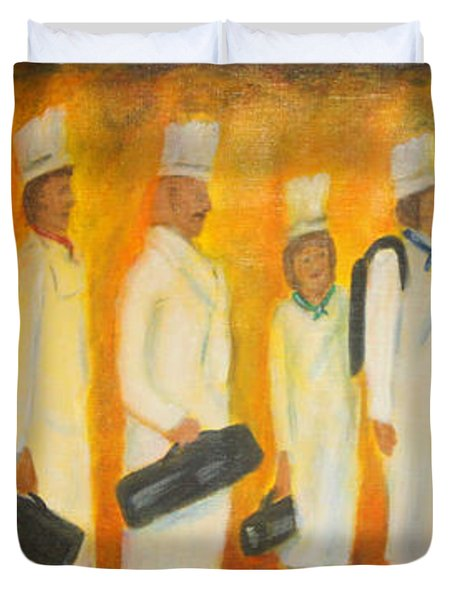 Chef School Duvet Cover
