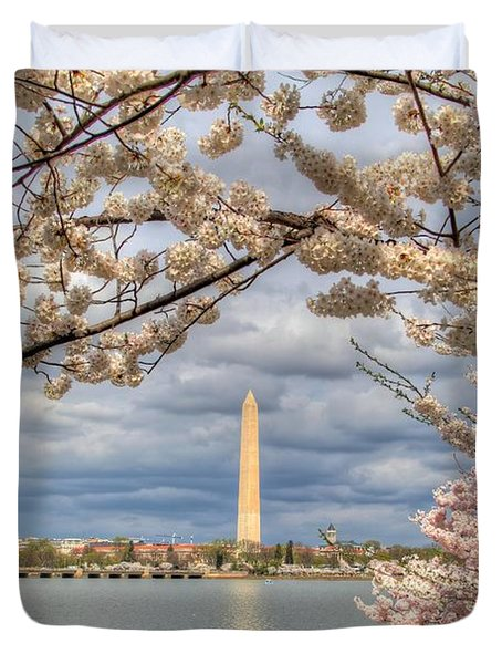 Cherry Blossoms Washington Dc 4 Duvet Cover