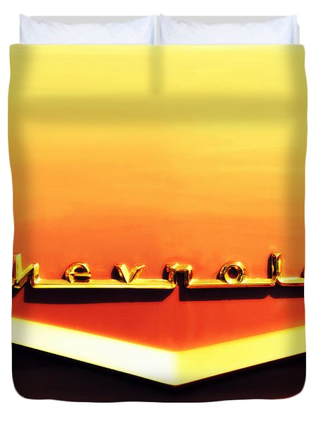 Chevrolet Duvet Cover by Susanne Van Hulst