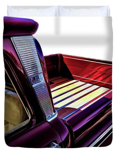Chevy Custom Truckbed Duvet Cover