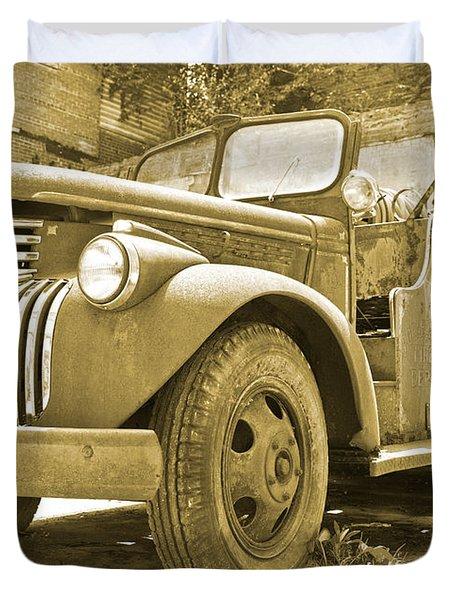 Chevy Firetruck  Duvet Cover