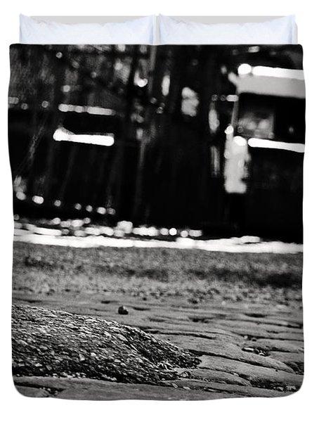 Chicago Cobblestone Duvet Cover