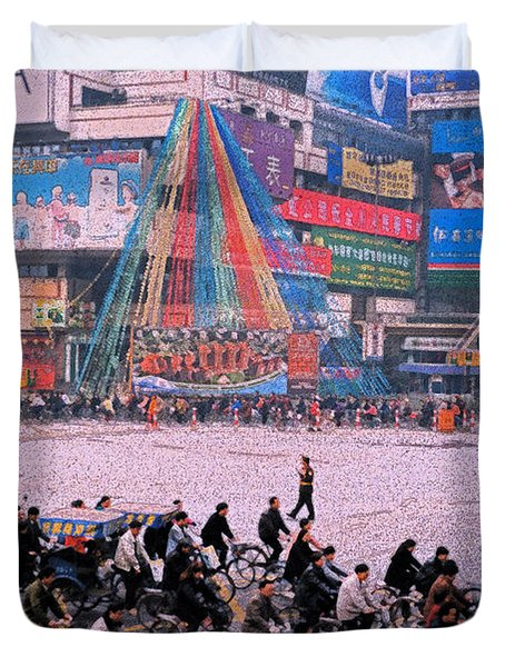 China Chengdu Morning Duvet Cover by First Star Art