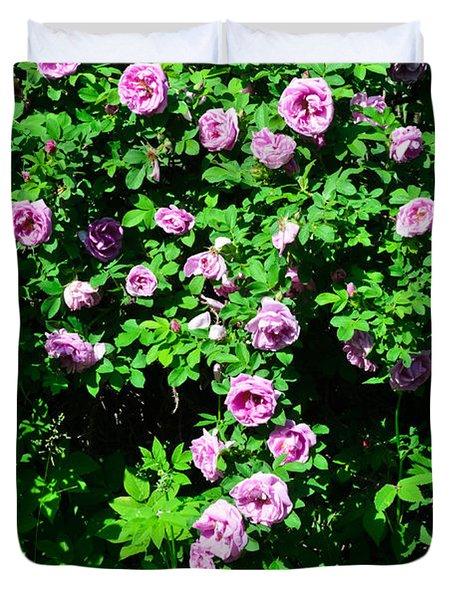 China Rose Duvet Cover