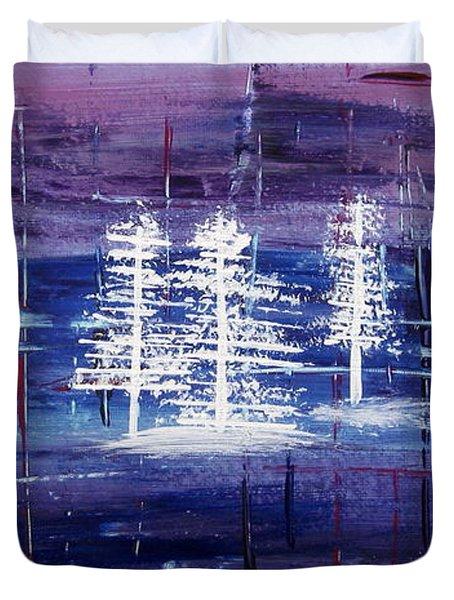 Christmas Card No.1 Duvet Cover