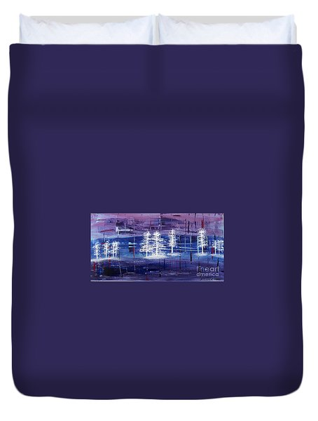 Christmas Card No.1 Duvet Cover