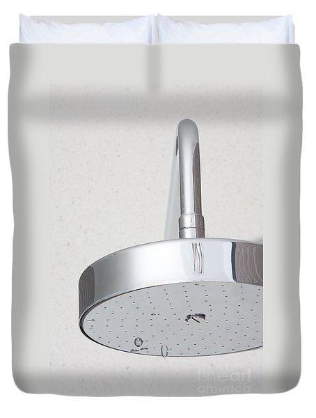 Chrome Shower Head Duvet Cover