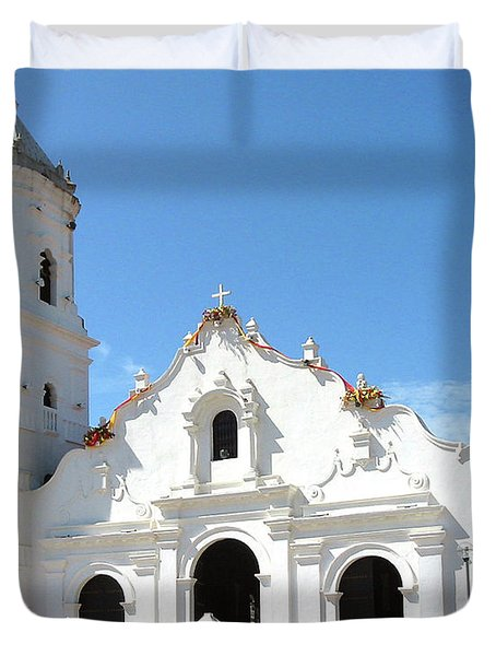 Church Of Nata De Los Caballeros Duvet Cover