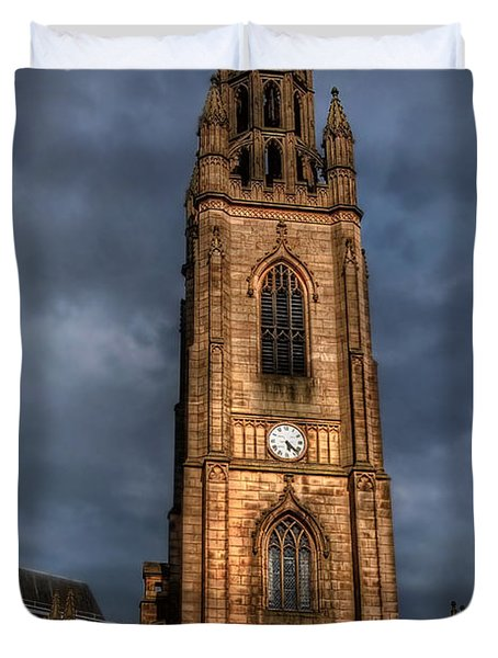 Church Of Our Lady - Liverpool Duvet Cover by Yhun Suarez