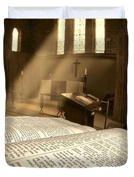 Church, Rosedale, West Yorkshire Duvet Cover by John Short