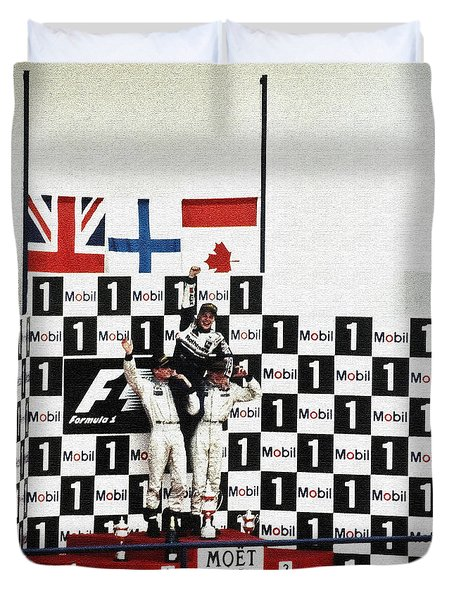 Circuito De Jerez 1997 Duvet Cover