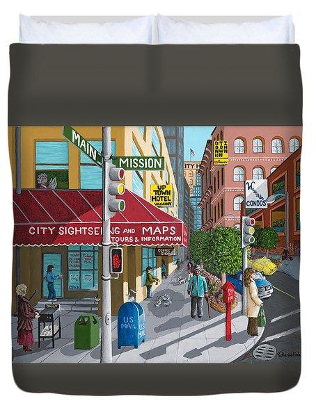 City Corner Duvet Cover
