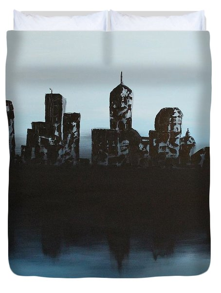 Cityscape One Duvet Cover