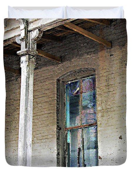 Duvet Cover featuring the photograph Civil War Hospital Memphis by Lizi Beard-Ward