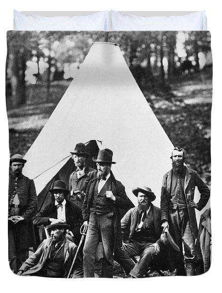 Civil War: Scouts, 1862 Duvet Cover by Granger