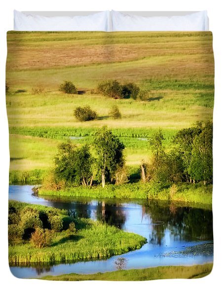 Duvet Cover featuring the photograph Clark Fork Delta  by Albert Seger