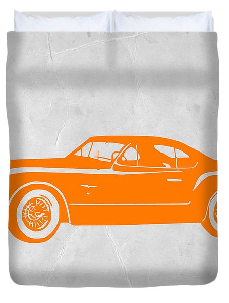 Classic Car 2 Duvet Cover by Naxart Studio