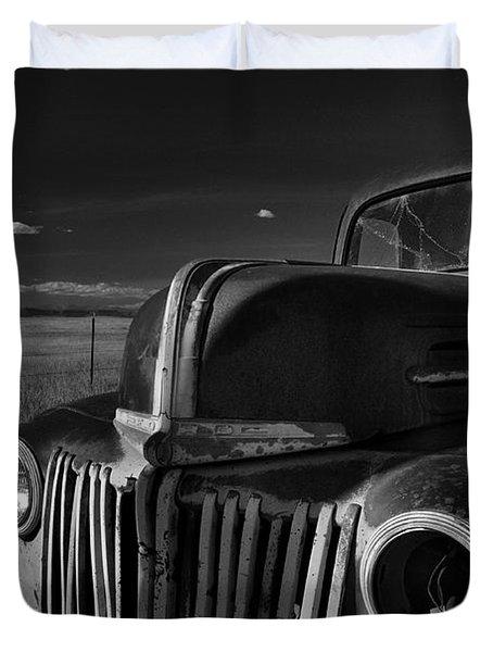 Classic Rust Duvet Cover