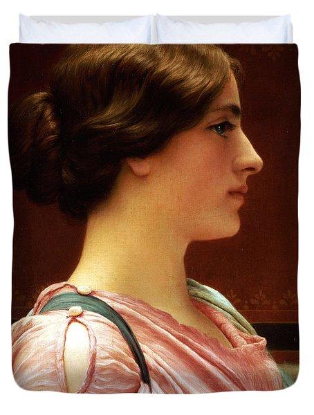 Cleonice Duvet Cover by John William Godward