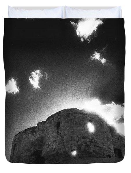 Cliffords Tower Duvet Cover by Simon Marsden
