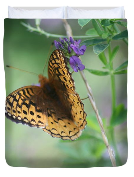 Close-up Butterfly Duvet Cover