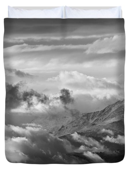 Cloud Art Duvet Cover by Colleen Coccia