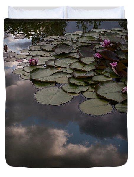 Clouded Pond Duvet Cover