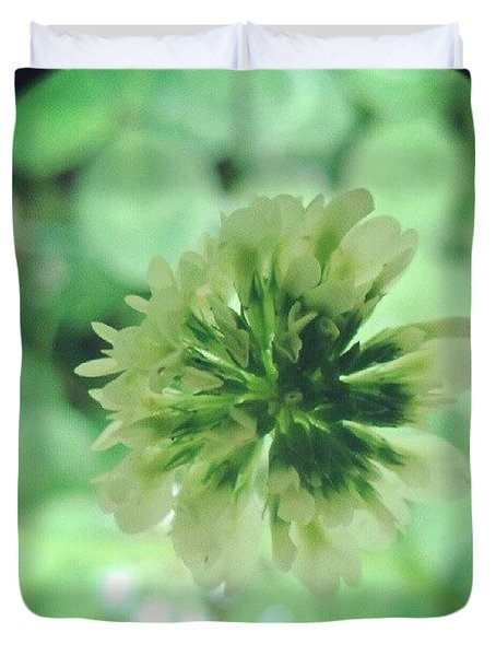 Clover Flower Duvet Cover