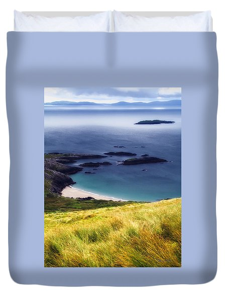 Coast Of Ireland Duvet Cover