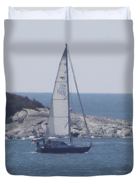 Coastal Newport Ri  Duvet Cover