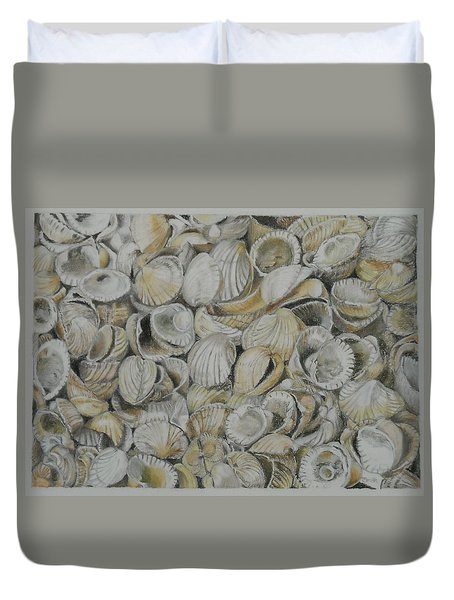 Cockle Shells Duvet Cover