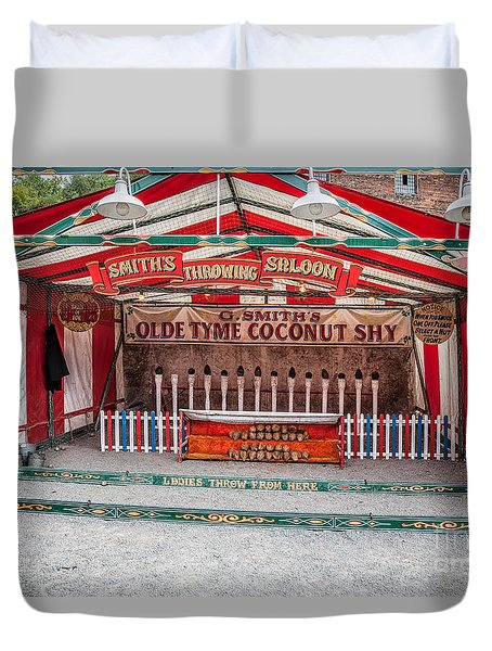 Coconut Shy Duvet Cover