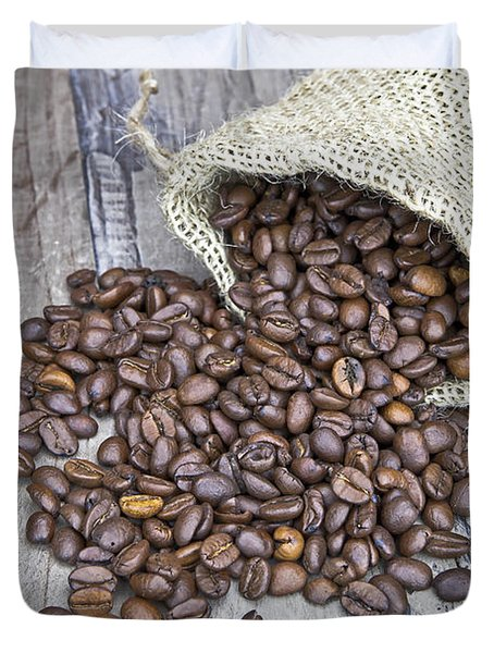 Coffee Beans Duvet Cover by Joana Kruse
