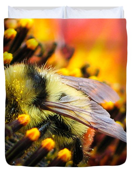 Collecting Pollen Duvet Cover