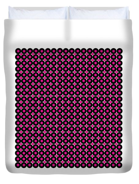 Color Illusion No1. Duvet Cover