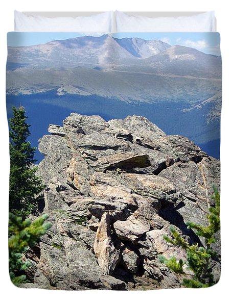 Duvet Cover featuring the photograph Colorado 11 by Deniece Platt