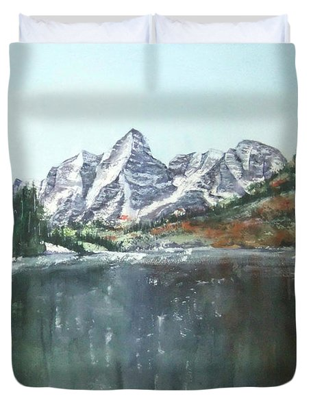Colorado Beauty Duvet Cover