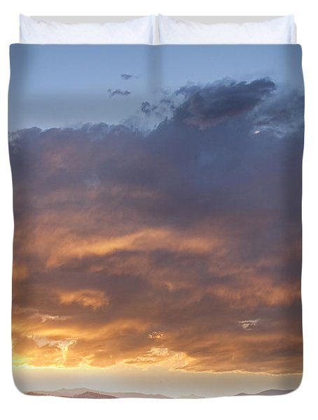 Colorado Evening Light Duvet Cover by James BO  Insogna