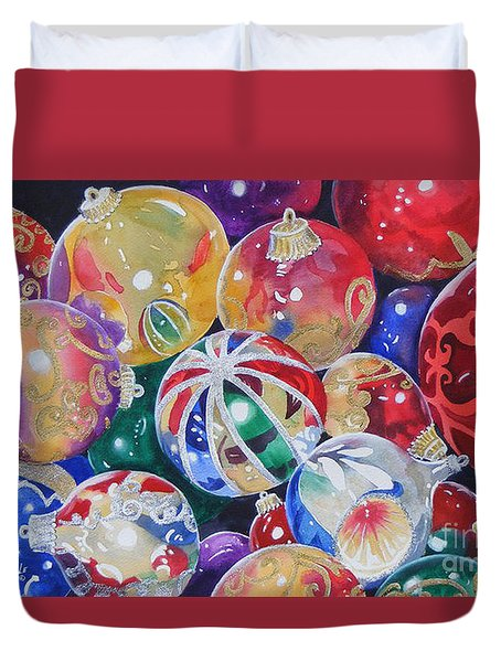 Colors Of Christmas ...sold  Duvet Cover