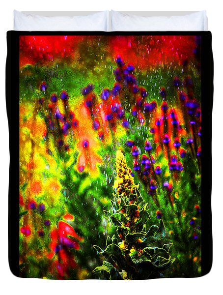 Colors Through The Rain Iv Duvet Cover