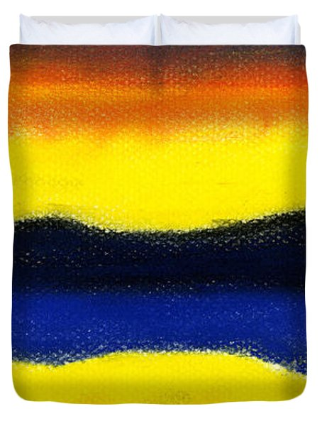 Colours Of Sky Duvet Cover by Hakon Soreide