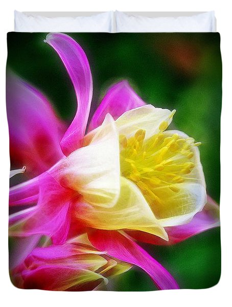 Columbine Duvet Cover by Judi Bagwell